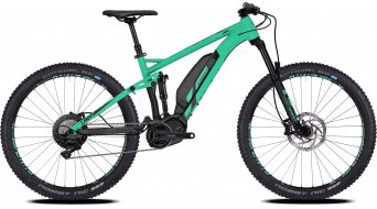 Ghost Hybride Lanao FS S4.7+ AL W 27.5+ E-Bike bici completa Señoras-rueda jade azul/night negro Mod. 2018