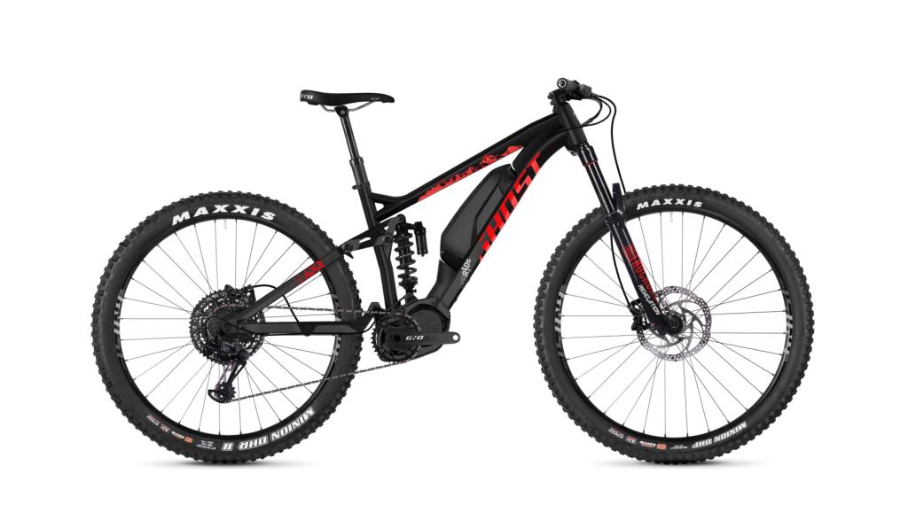 Ghost Hybride SLAMR S2.7+ AL U 27.5+ E- vélo vélo taille M night black/riot red/iridium argent Mod. 2019