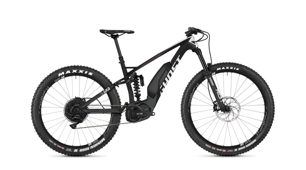 Ghost Hybride SLAMR S4.7+ LC U 27.5+ E-Bike bici completa tamaño XL titanium gray/star blanco/riot rojo Mod. 2019