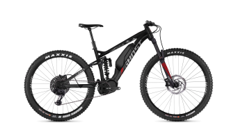 Ghost Hybride SLAMR X S3.7+ AL U 27.5+ E-Bike Komplettrad night black/iridium silver/riot red Mod. 2019