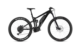 Ghost Hybride SLAMR X S4.7+ AL U 27.5+ E-Bike 整车 型号 night black/jet black/iridium silver 款型 2019