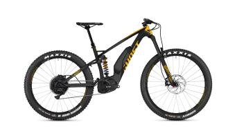 Ghost Hybride SLAMR X S5.7+ LC and 27.5+ E- bike bike titanium gray/spectra yellow/microchip gray 2019