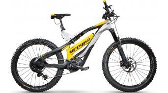 "Greyp G6.2 Expert FS 27.5"" MTB E-Bike Komplettrad weiß/schwarz/gelb Mod. 2020"
