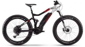 "Haibike XDURO FullFatSix 10.0 26"" VTT Vélo électrique, L noir/argent/rouge matt Mod. 2020"