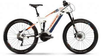 "Hai bike SDURO FullSeven LT 5.0 27.5"" MTB E-Bike white/blue/orange 2020"