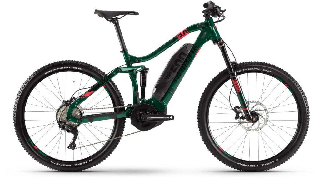 "Haibike SDURO FullSeven Life LT 2.0 27.5"" MTB E-Bike Komplettrad Gr. S kingston/coral/schwarz Mod. 2020"