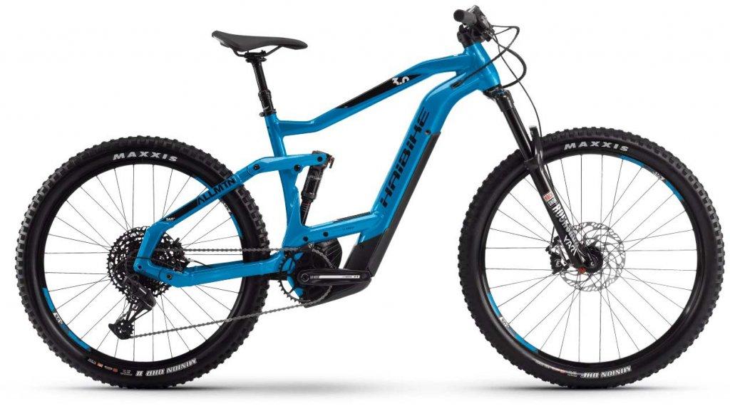 "Haibike XDURO AllMtn 3.0 27.5"" MTB E-Bike Komplettrad Gr. S blau/schwarz/grau Mod. 2020"