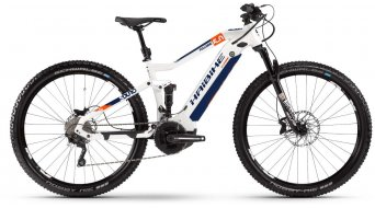 "Hai bike SDURO FullNine 5.0 29"" MTB E- bike bike white/orange/blue 2020"