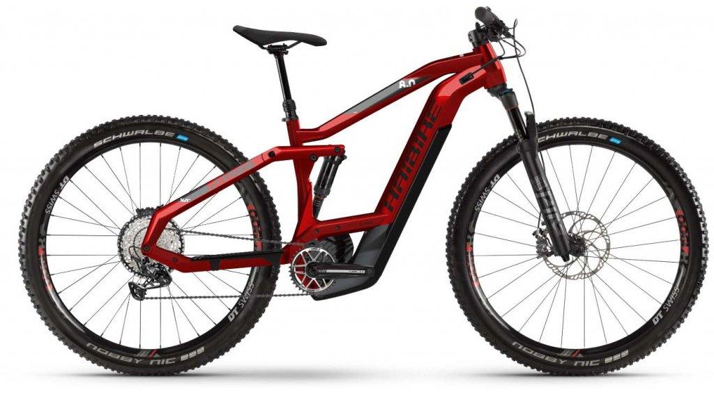 "Haibike SDURO FullNine 8.0 29"" MTB E-Bike Komplettrad Gr. M rot/schwarz/grau Mod. 2020"