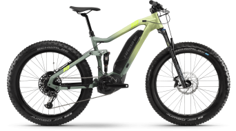 Haibike FullFatSix 26 E-Bike MTB bici completa tamaño M canary/bamboo matte Mod. 2021