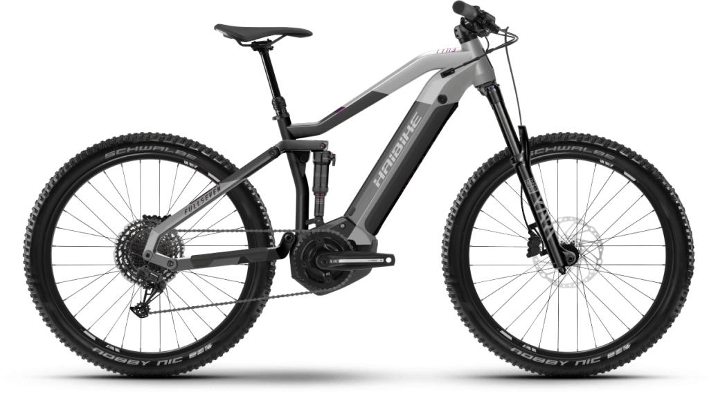 Haibike FullSeven 7 27.5 E-Bike MTB Komplettrad Gr. M platin/anthracite Mod. 2021