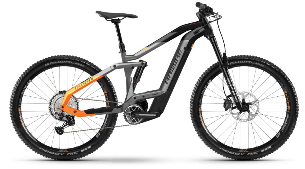 Haibike FullSeven 10 27.5 E-Bike MTB Komplettrad Gr. S titan/black matte Mod. 2021