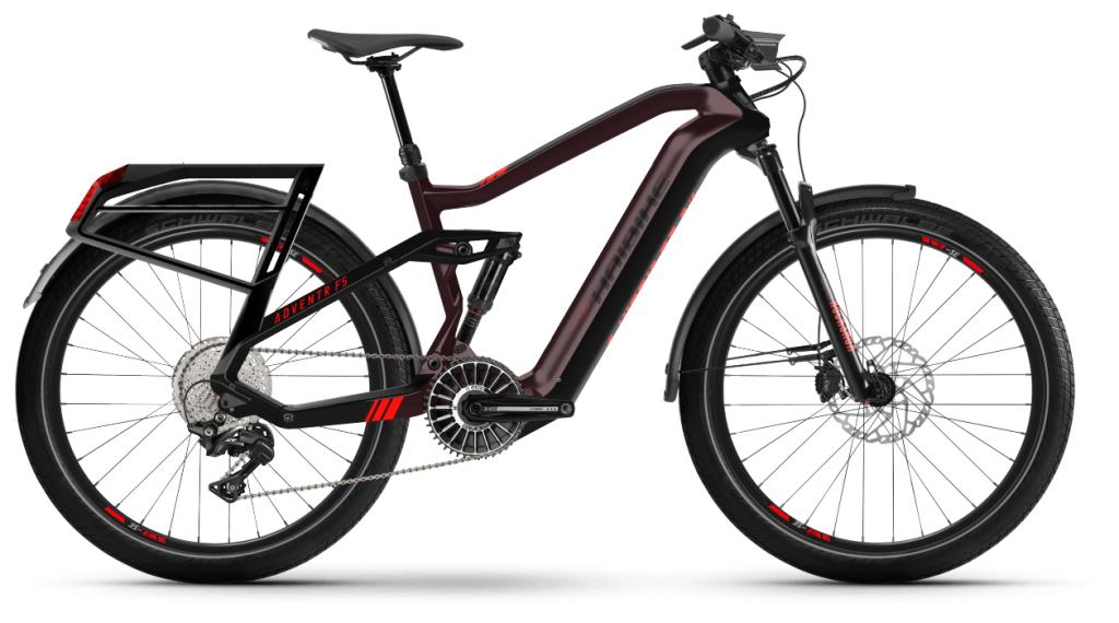 Haibike XDURO Adventr FS 27.5 E-Bike MTB bici completa tamaño L chocolate/negro Mod. 2021