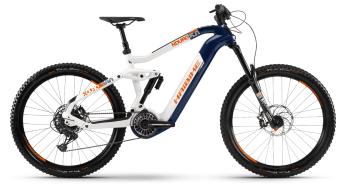 Haibike XDURO Nduro 5.0 27.5 E-Bike MTB Komplettrad blau/weiß/orange Mod. 2021