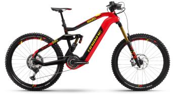 Hai bike XDURO Nduro 10.0 27.5 E- bike MTB bike red/carbon/yellow 2021
