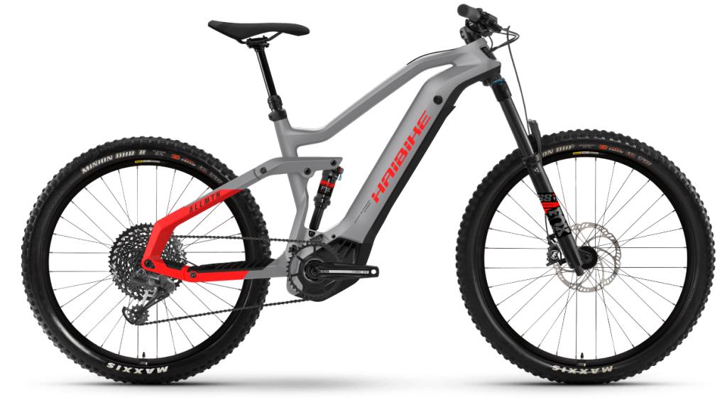 Haibike AllMtn 6 29 / 27.5 E-Bike MTB bici completa tamaño XL urban gris/negro/rojo matte Mod. 2021