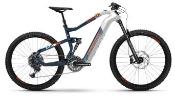 Haibike XDURO AllMtn 5.0 29 / 27.5 E-Bike MTB Komplettrad weiß/blau/orange Mod. 2021