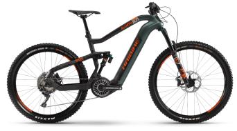 Haibike XDURO AllMtn 8.0 29 / 27.5 E-Bike MTB Komplettrad oliv/carbon/orange matt Mod. 2021