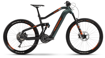 Haibike XDURO AllMtn 8.0 29 / 27.5 VTT Vélo électrique Gr. olive/carbone/orange matt Mod. 2021
