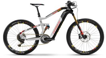Haibike XDURO AllMtn 10.0 29 / 27.5 VTT Vélo électrique Gr. carbone/argent/rouge matt Mod. 2021