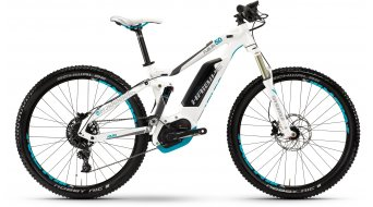 Hai bike XDURO FullLife 5.0 27.5 MTB E- bike ladies bike white/titanium/cyan Bosch Performance CX-Antrieb 2017