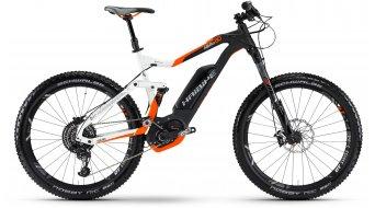 Haibike XDURO AllMtn 8.0 27.5 MTB E-Bike Komplettrad 42cm weiß/schwarz/orange matt Bosch Performance CX-Antrieb Mod. 2017