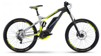 Hai bike XDURO DWNHLL 8.0 27.5 MTB E- bike bike silver/anthracite/yellow matt Bosch Performance CX-Antrieb 2017