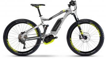Haibike XDURO FullSeven 6.0 27.5 MTB E-Bike Komplettrad Gr. 45cm silber/anthrazit/lime matt Bosch Performance CX-Antrieb Mod. 2017