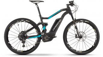 Hai bike XDURO FullSeven carbon 8.0 27.5 MTB E- bike bike carbon/cyan/red matt Bosch Performance CX-Antrieb 2017