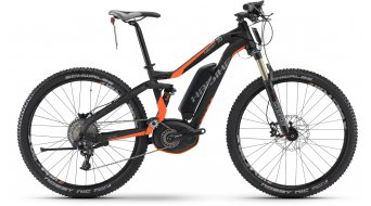 Hai bike XDURO FullSeven S 7.0 27.5 MTB S-Pedelec bike black/orange matt Bosch Performance Speed-Antrieb 2017