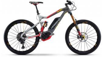 Hai bike XDURO NDURO 9.0 27.5 MTB E- bike bike silver/red/yellow/black matt Bosch Performance CX-Antrieb 2017