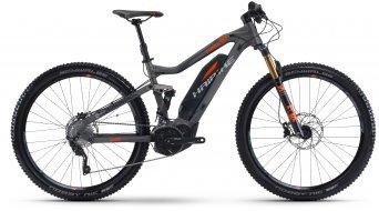 Haibike SDURO FullNine 8.0 29 MTB E-Bike Komplettrad Gr. S titan/silber/orange Yamaha PW-X-Antrieb Mod. 2017