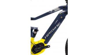 "Haibike SDURO FullSeven LT 7.0 500Wh 27.5"" MTB e-bike fiets maat. M blauw(e)/citron/zilver mat model 2018- demo Nr. 29"