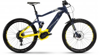 "Haibike SDURO FullSeven LT 7.0 500Wh 27.5"" MTB E-Bike bici completa . blu/citron/argento opaco mod. 2018"