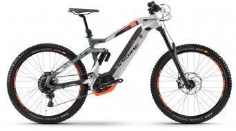 "Haibike XDURO Nduro 8.0 500Wh 27.5"" MTB E-Bike bici completa . oliv/argento/arancione opaco mod. 2018"