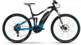 """Haibike SDURO FullNine 5.0 400Wh 29"""" MTB e-bike fiets zwart/blauw(e)/wit mat model 2018"""