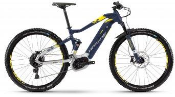 """Hai bike SDURO FullNine 7.0 500Wh 29"""" MTB E- bike bike blue/silver/citron matt 2018"""