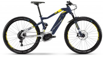 "Haibike SDURO FullNine 7.0 500Wh 29"" MTB E-Bike bici completa . blu/argento/citron opaco mod. 2018"