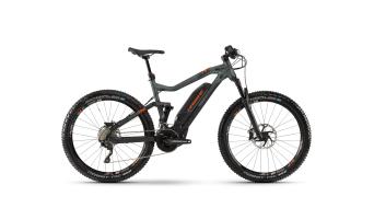 """Haibike SDURO FullSeven 8.0 500Wh 27,5"""" horské elektrokolo černá/olive/orange matt model 2019"""