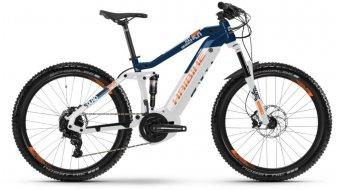 """Hai bike SDURO FullSeven LT 5.0 500WH 27.5""""/650B MTB E- bike bike white/blue/orange 2019"""