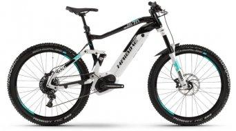 """Haibike SDURO FullSeven LT 7.0 500WH 27.5""""/650B MTB(山地) E-Bike 整车 型号 M 灰色/黑色/绿松石色 款型 2019"""
