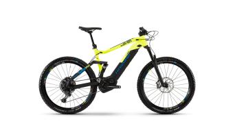 """Hai bike SDURO FullSeven LT 9.0 500WH 27.5"""" MTB E- bike bike size L black/yellow/blue matt 2019"""
