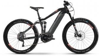 """Hai bike SDURO FullSeven Life LT 6.0 500Wh 27.5""""/650B MTB E- bike bike black/grey/coral matt 2019"""