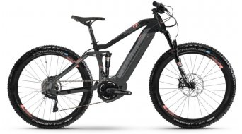 "Haibike SDURO FullSeven Life LT 6.0 500Wh 27.5"" / 650B MTB E-Bike Komplettrad schwarz/grau/coral matt Mod. 2019"