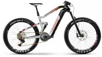 "Haibike XDURO AllMtn 10.0 27.5""Flyon MTB E-Bike Komplettrad carbon/silber/rot matt Mod. 2020"