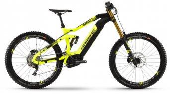 "Haibike XDURO Dwnhll 9.0 500Wh 27.5"" / 650B MTB E-Bike Komplettrad Gr. L gelb/schwarz/titan matt Mod. 2019 - TESTBIKE"