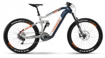 "Hai bike XDURO Nduro 5.0 27.5""Flyon MTB E- bike bike blue/white/orange 2020"