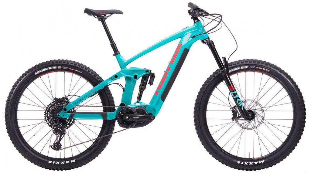 "Kona 遥控 160 27.5"" E-Bike 整车 型号 L seafoam 款型 2020"