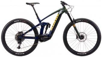 Kona Remote 160 DL 29 E-Bike MTB Komplettrad gloss forest-gray/indigo Mod. 2021