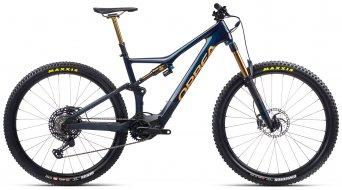 Orbea Rise M-Team 29 E-Bike MTB Komplettrad Gr. XL coal blue/red gold Mod. 2021